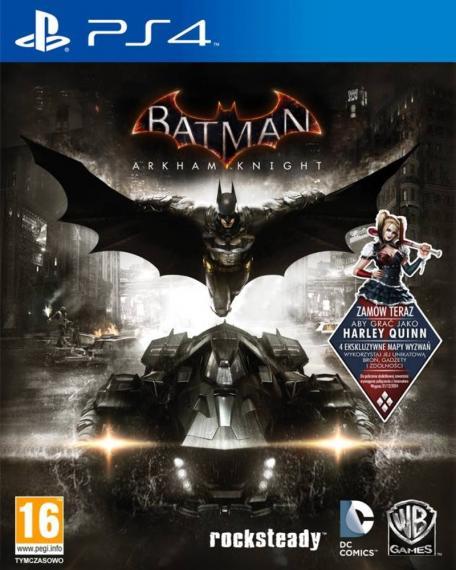 Batman Arkham Knight + 2 DLC PL PS4