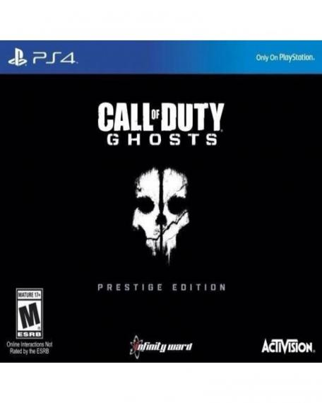 Call Of Duty Ghosts Prestige Edition PL PS4