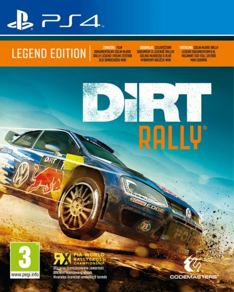 Dirt Rally PL PS4 + DLC