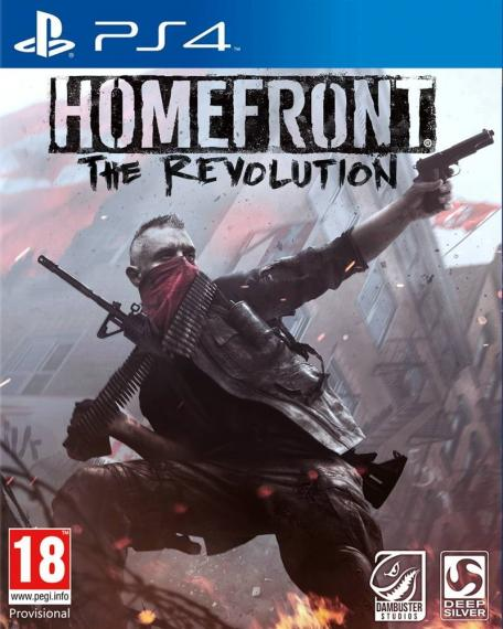 Homefront The Revolution + DLC PL PS4