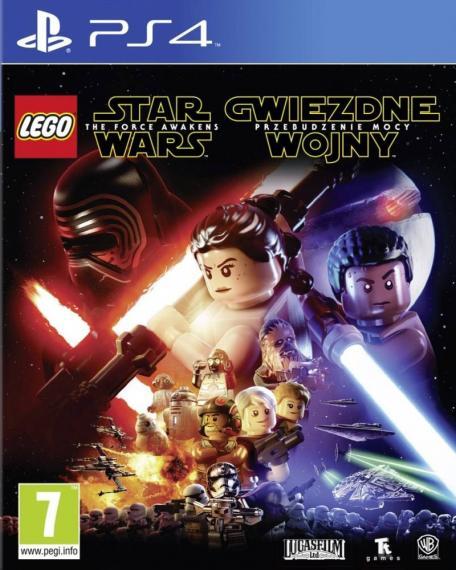 Lego Star Wars Przebudzenie Mocy PL PS4