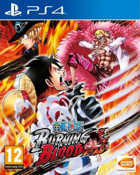 One Piece: Burning Blood PL PS4