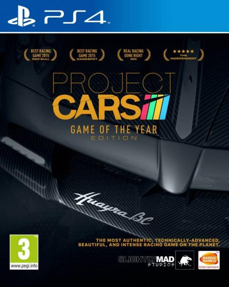Project Cars Game Of The Year Edition PL PS4