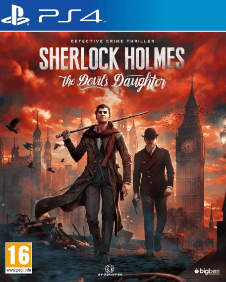 Sherlock Holmes The Devils Daughter PL PS4