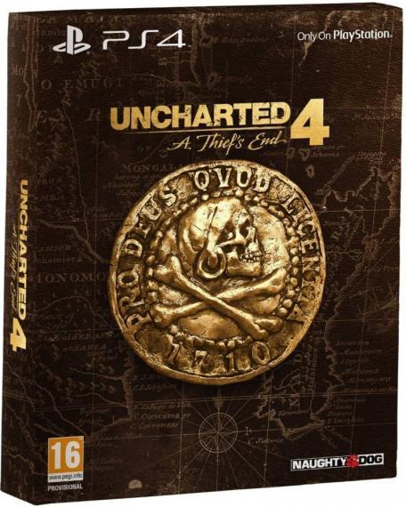 Uncharted 4: Kres Złodzieja Edycja Specjalna PL Dubbing PS4