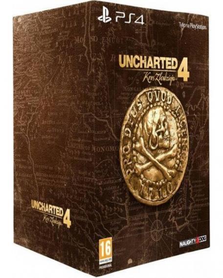 Uncharted 4: Kres Złodzieja Edycja Kolekcjonerska PL Dubbing PS4