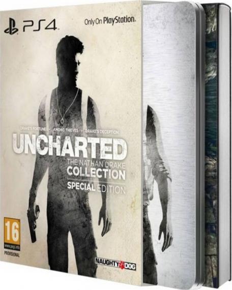 Uncharted The Nathan Drake Collection Edycja Limitowana PL PS4
