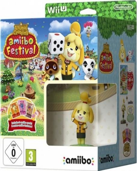 Animal Crossing Amiibo Festival + Amiibo Isabel + 3 Karty Wii U