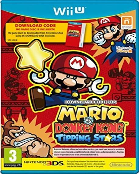 Mario Vs Donkey Kong Tipping Stars Download Code Wii U