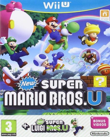 New Super Mario Bros U + Luigi U Wii U