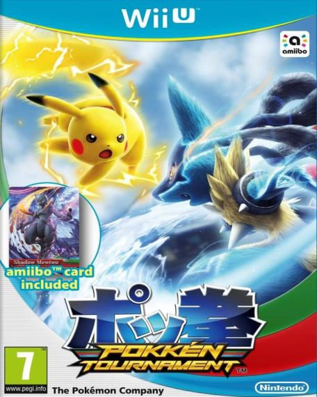 Pokken Tournament + Karta Amiibo Wii U