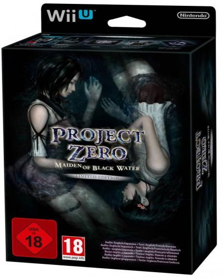 Project Zero Maiden Of Black Water Edycja Limitowana Wii U