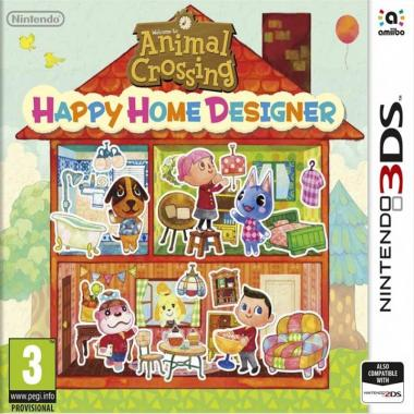 Animal Crossing Happy Home Designer + Karta 3DS