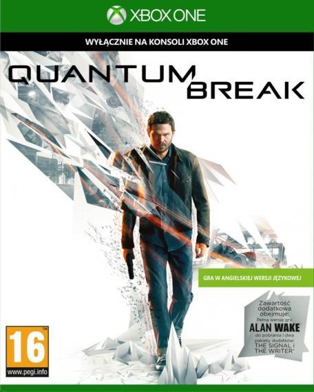Quantum Break + Steebook + Alan Wake XBOX ONE
