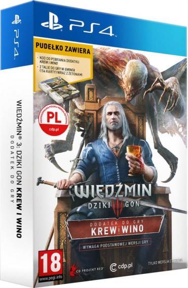 Wiedźmin 3 Krew i Wino Edycja Limitowana PL PS4