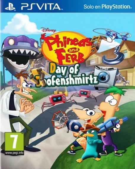 Phineas And Ferb: Day Of Doofenshmirtz PSV