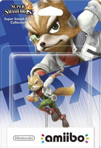 Nr.6 Figurka Amiibo Smash Fox