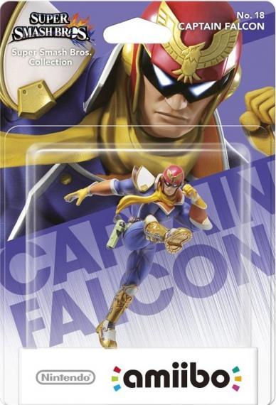 Nr.18 Figurka Amiibo Smash Captain Falcon