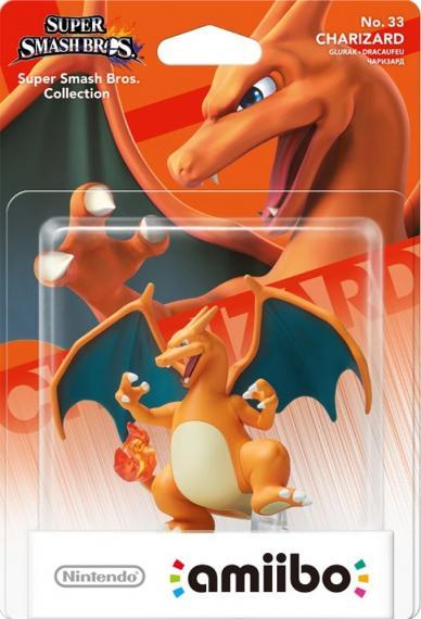 Nr.33 Figurka Amiibo Smash Charizard