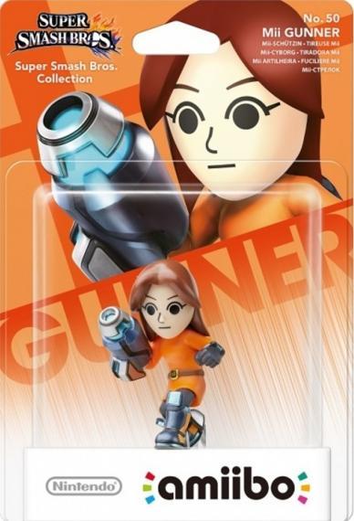 Nr.50 Figurka Amiibo Smash Mii Gunner