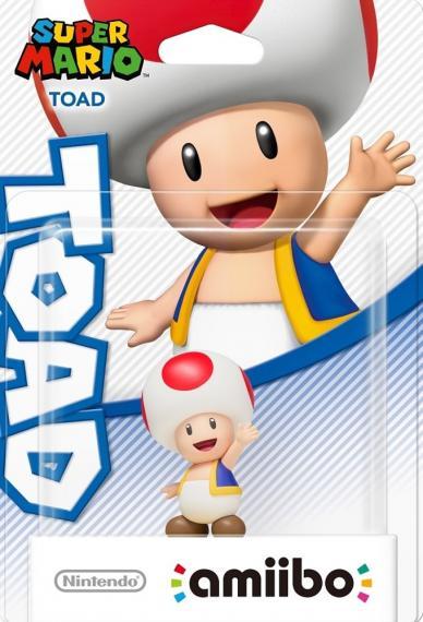 Figurka Amiibo Super Mario Toad