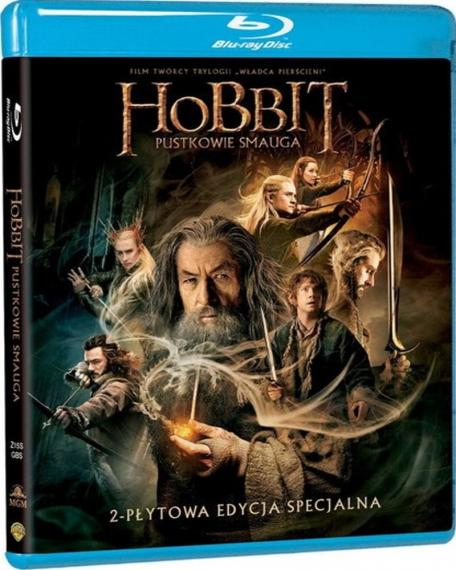 Hobbit: Pustkowie Smauga PL BLU-RAY