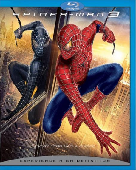 Spider-Man 3 PL BLU-RAY