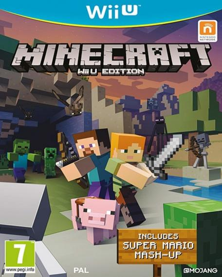 Minecraft WiiU Edition + Mario Mash-Up Pack