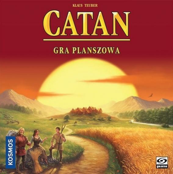 Catan (Osadnicy z Catanu) PL Planszówka