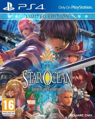 Star Ocean 5 Integrity and Faithlessness Limited Edition PS4
