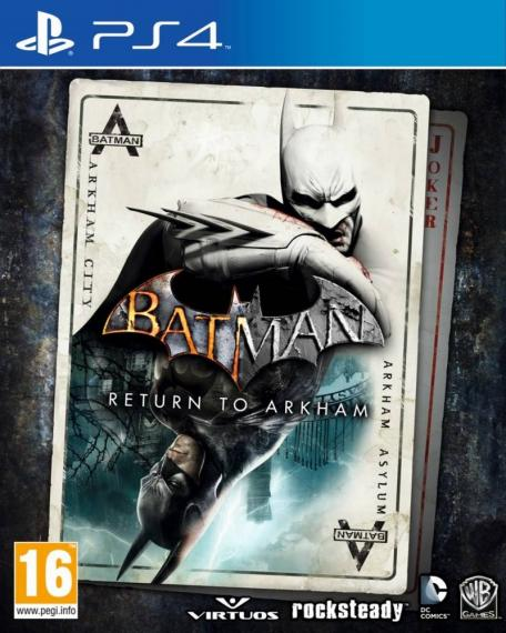 Batman Return to Arkham PL PS4