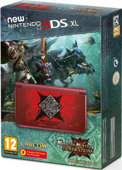 New Nintendo 3DS XL Edycja Monster Hunter Generations