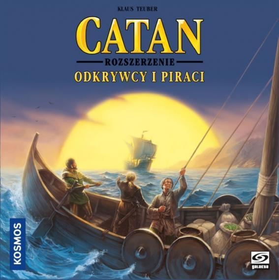 Catan (Osadnicy Z Catanu) Odkrywcy i Piraci PL Planszówka