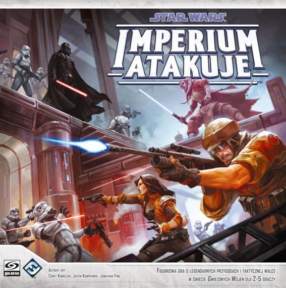Star Wars: Imperium Atakuje PL Planszówka