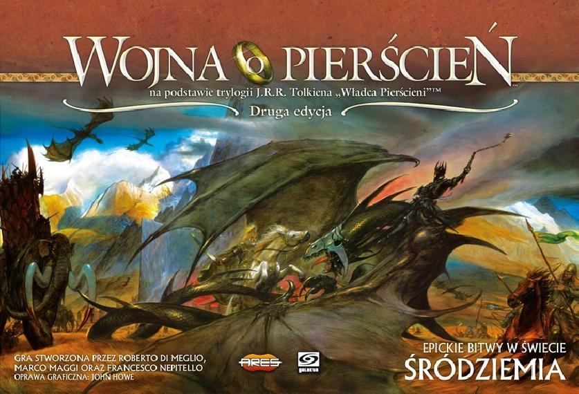 Wojna o Pierscień: Druga Edycja PL Planszówka