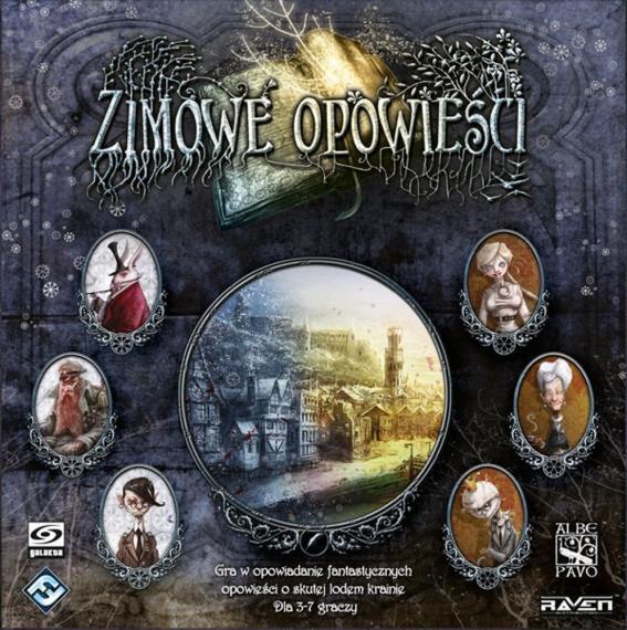 Zimowe Opowieści PL Planszówka