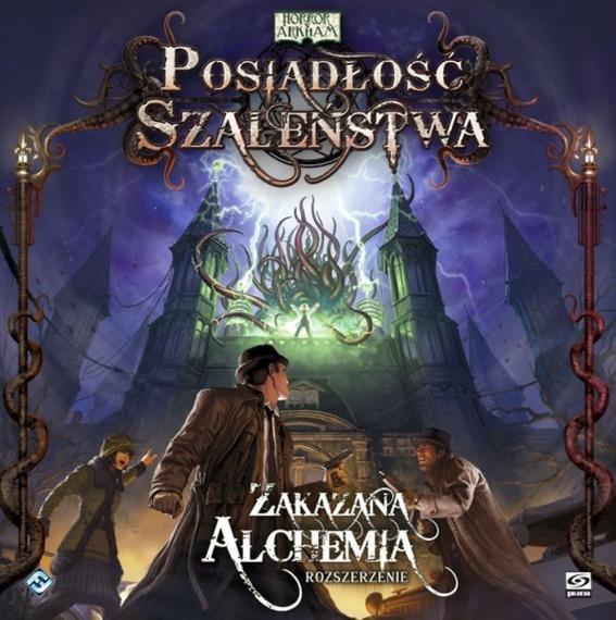 Horror W Arkham: Posiadłość Szaleństwa Zakazana Alchemia PL Planszówka