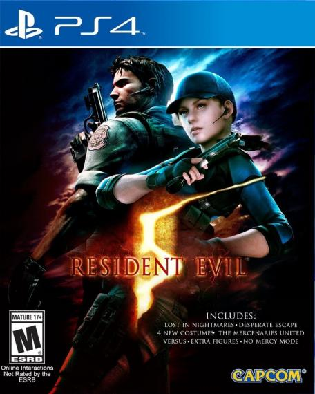 Resident Evil 5 HD + Dlc PS4