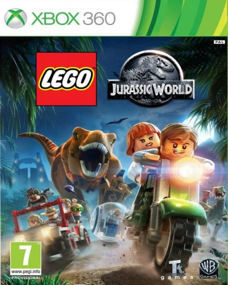 Lego Jurassic World PL XBOX 360
