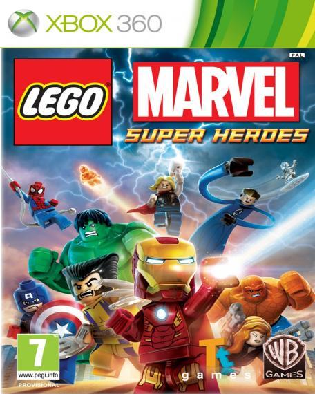 Lego Marvel Super Heroes PL XBOX 360