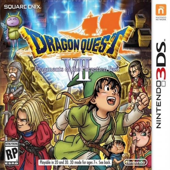 Dragon Quest 7 Fragments of the Forgotten Past 3DS