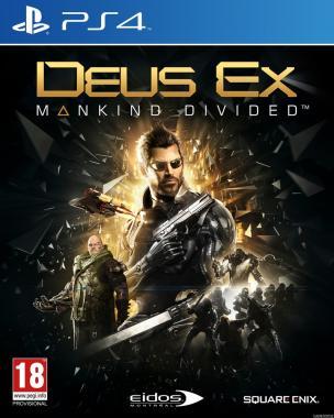 Deus Ex Rozłam Ludzkości PL + DLC PS4