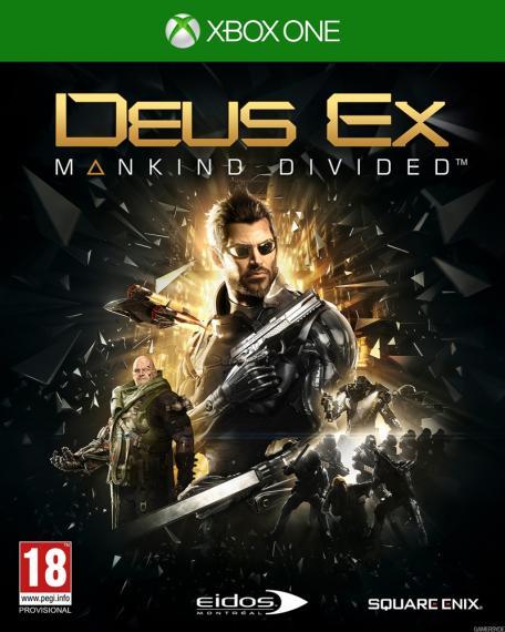 Deus Ex Rozłam Ludzkości PL + DLC XBOX ONE