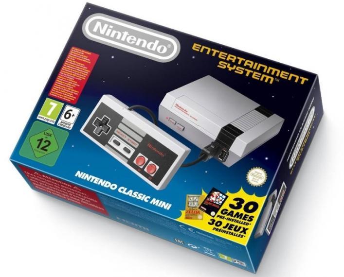 Nintendo Classic Mini 30 Super Gier NES