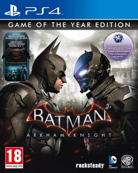 Batman Arkham Knight Goty PL PS4
