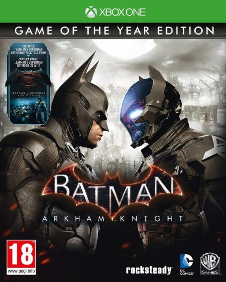 Batman Arkham Knight Goty PL XBOX ONE