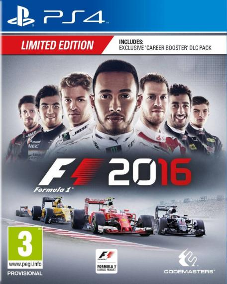 F1 2016 Edycja Limitowana Formula 1 PS4