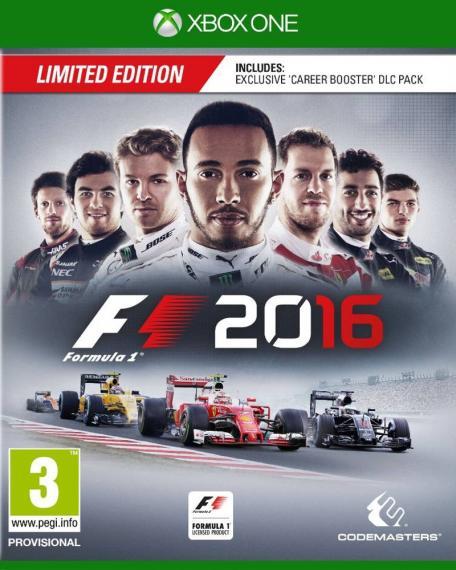F1 2016 Edycja Limitowana Formula 1 XBOX ONE