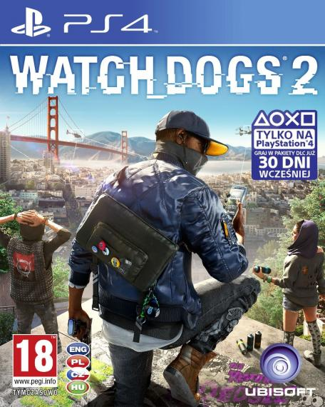 Watch Dogs 2 + 2 x DLC PL PS4