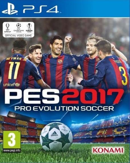 Pro Evolution Soccer 2017 Pes 17 PS4